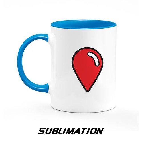 Custom 11oz. Mug Blue - Sublimation