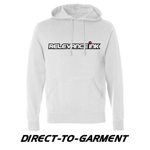 Custom White Cotton Hoodie (1 Placement) - DTG
