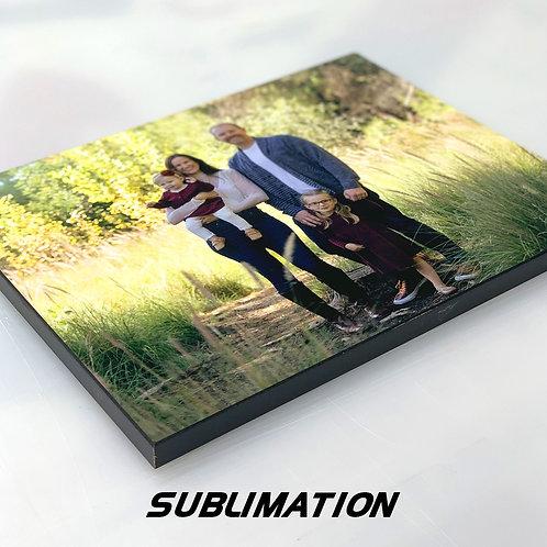 Custom Photo Plaque - Sublimation