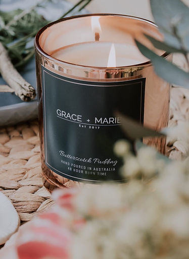 Hand poured soy candle