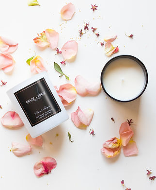 fragranced soy candles