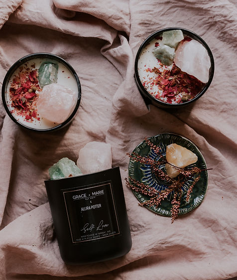 Allira Potter Self Love Candle