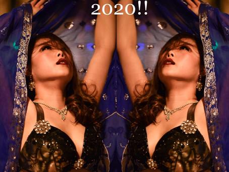 2019年ありがとう2020年謹賀新年