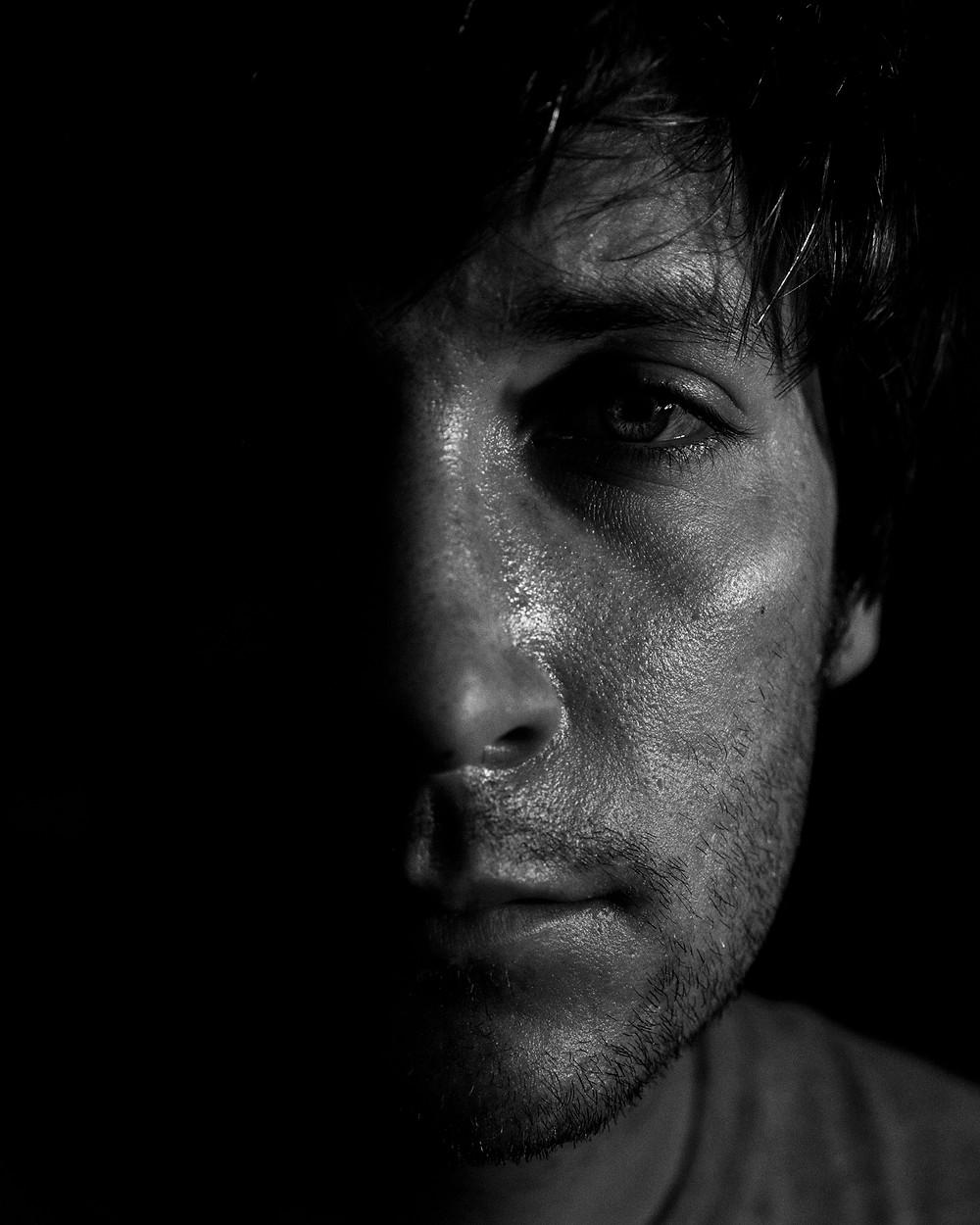 Self Portrait, 2021, Sony A7R IV, Sony Sonnar T* FE 55mm f/1.8 ZA Lens