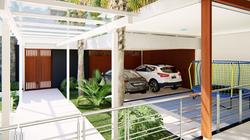 Perspectiva 15 - Vista da Garagem