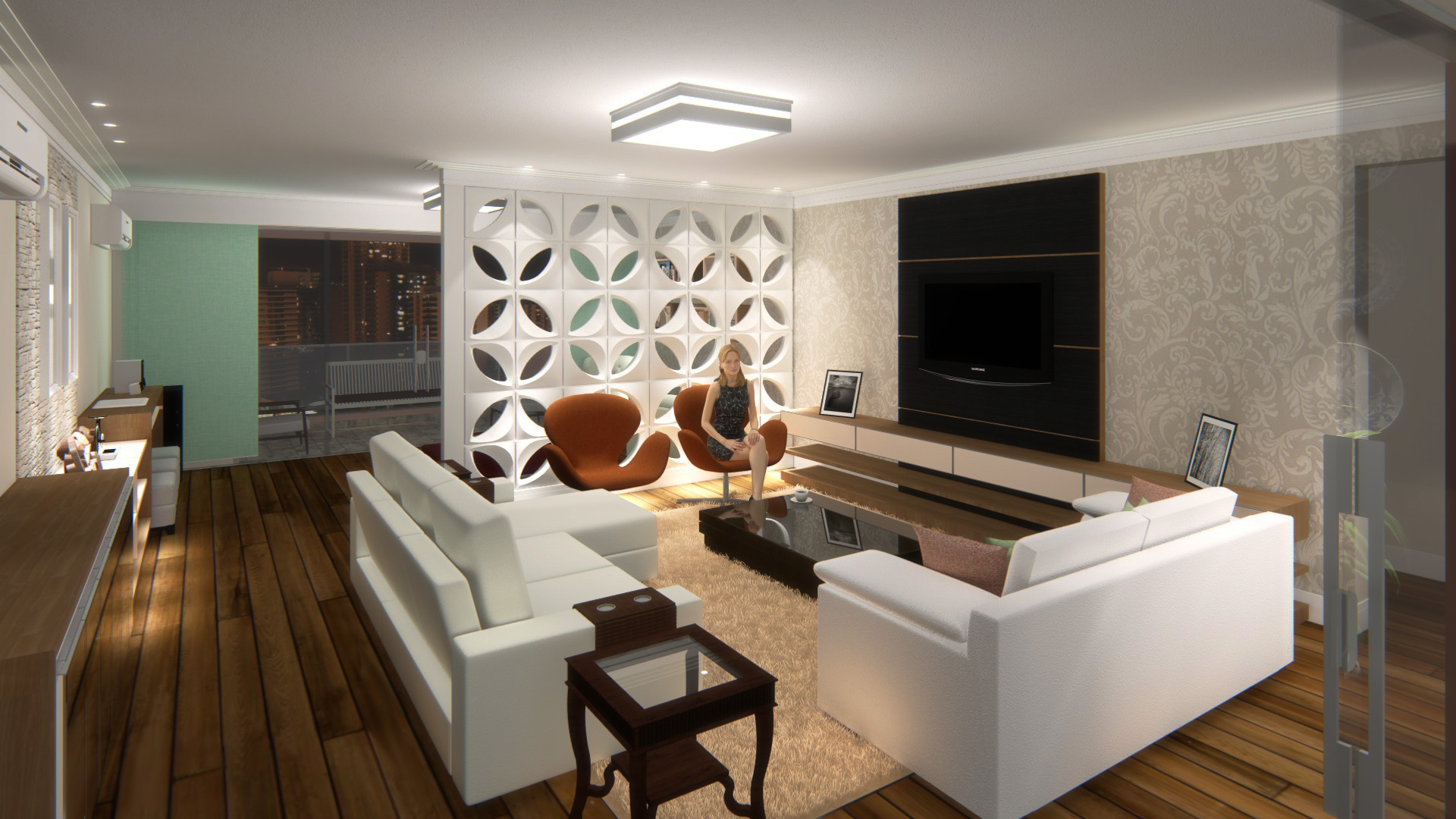 Sala de Estar/Tv