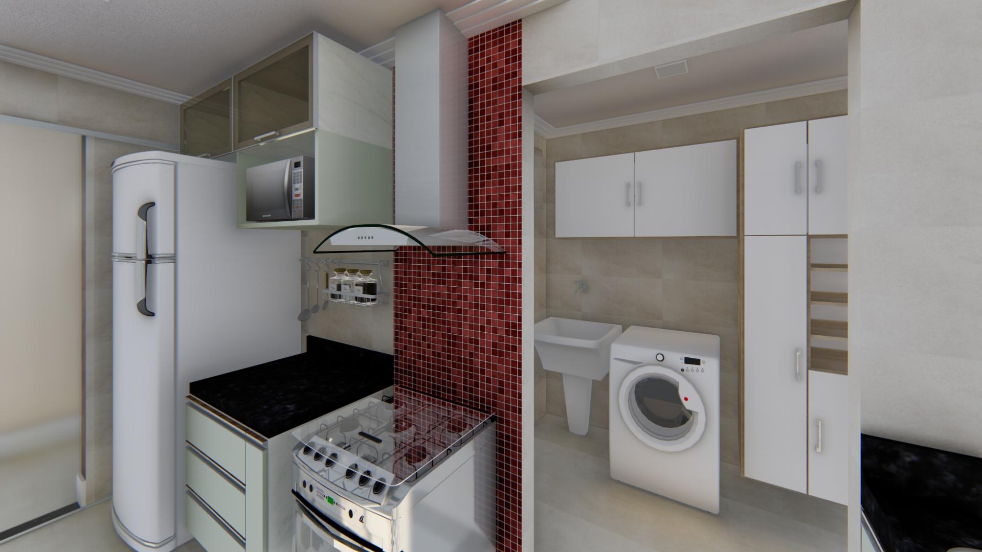 Perspectiva 09 - Cozinha