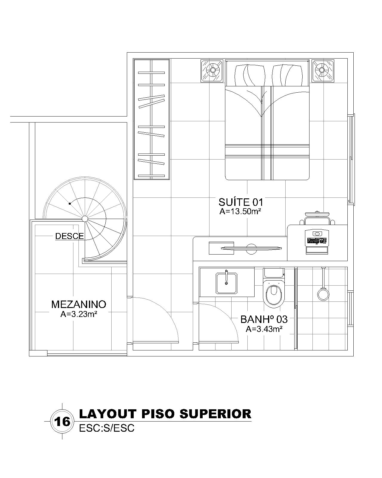 Layout Superior