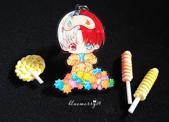 Todoroki Key Chain