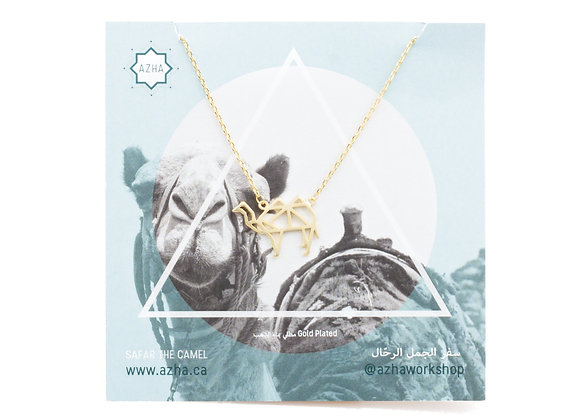 Safar Origami Camel Necklace