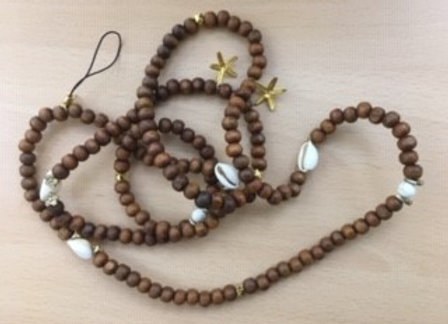 Star-Sea Wooden Mobile Chains