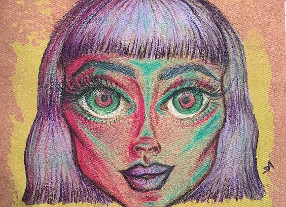 Face Paintings On Canvas (Medium)