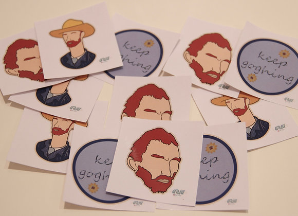 Vangogh-Stickers (set of 3)