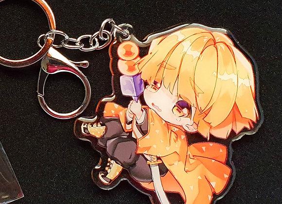 Zenitsu Key Chain