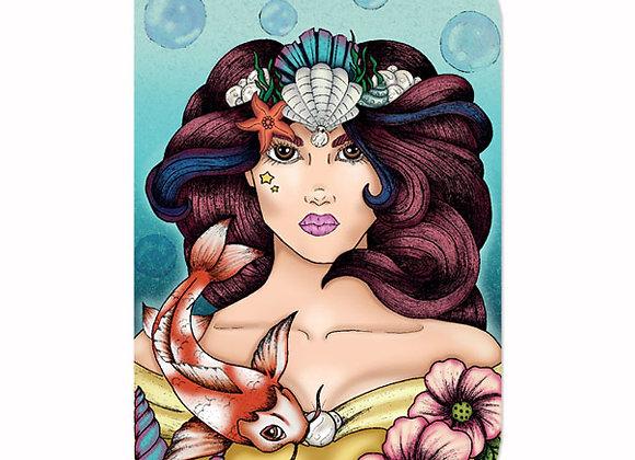 Mermaid Girl Notebook