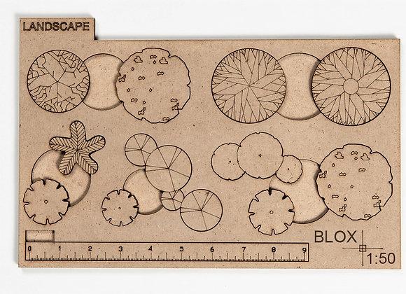 Landscape Tree Blox Packages