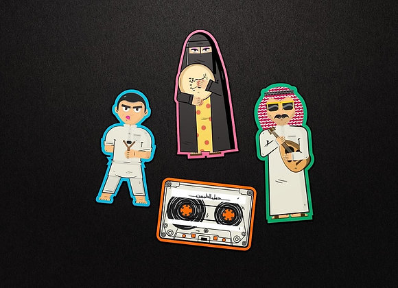 Nations Goods Stickers