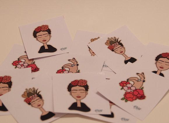 Frida-Stickers (set of 3)