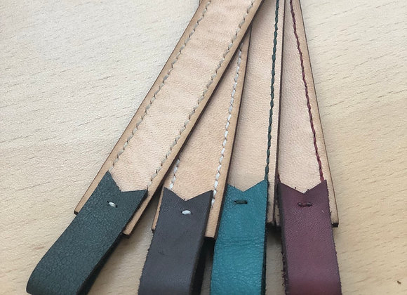 Leather Strap Bookmark