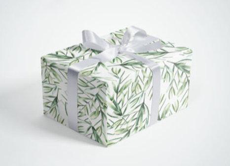 Gift Wraps Big Leaves