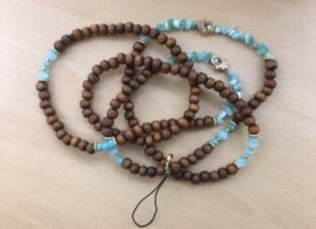 Turquoise Crystal Mobile Chains
