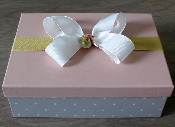 Medium Gift Box with White Bow