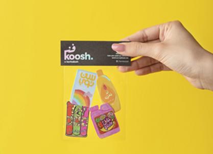 Fannkoosh Sticker (Pack of 4)