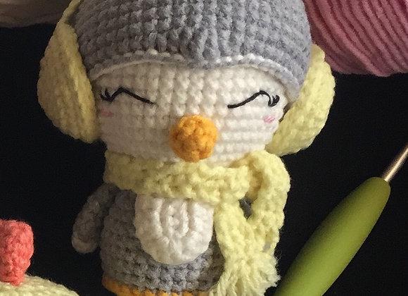 A Pinguin Amigurumi Doll