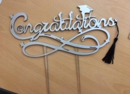 Congratulations Graduation Cake Toppers