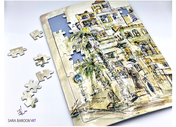 Jeddah Old Houses Puzzle