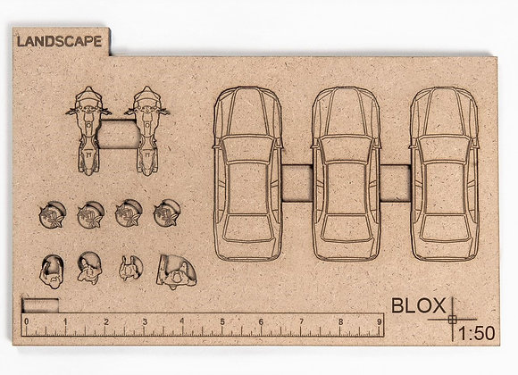 Landscape Car and Figure Blox Packages