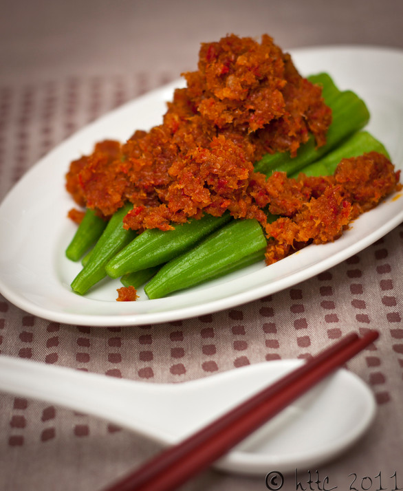 Lady's Fingers in Dried Shrimps Sambal Chilli