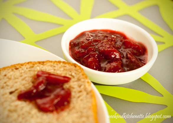 Homemade Strawberry Preserve (Jam)