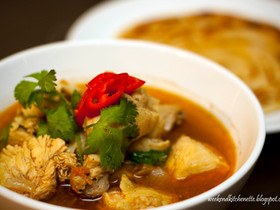 Coriander and Tomato based Curry Chicken