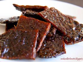 Bak Kua (Chinese Pork Jerky)