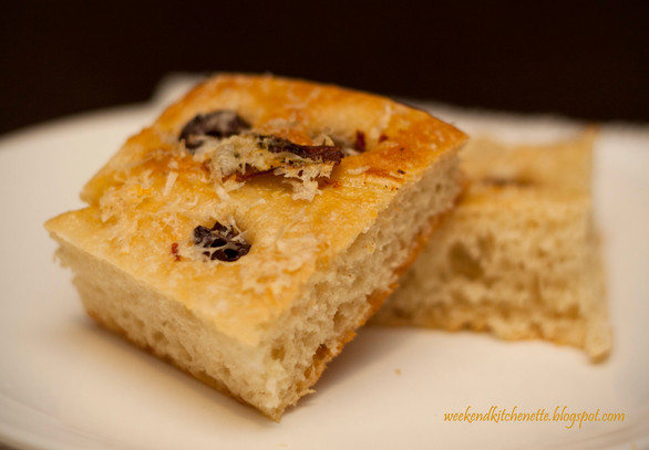 Fabulous Olive and Parmesan Focaccia