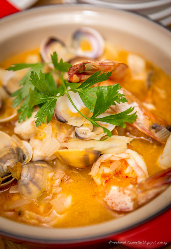 Julia Child's Seafood Bouillabaisse