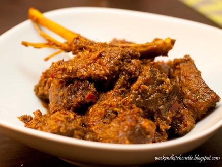 Singapore Beef Rendang