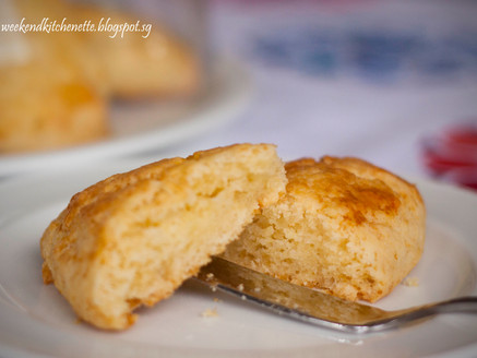 Buttery Scones for Afternoon Tea