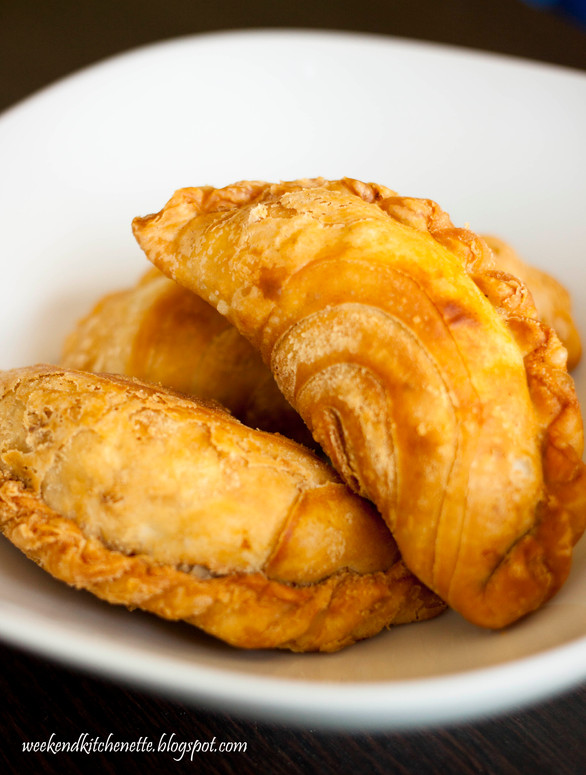 Crispy Layered Curry Puffs
