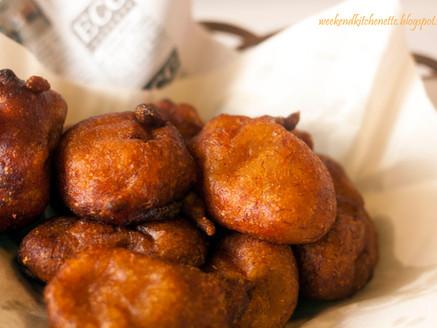 Asian Fried Mashed Bananas Fritters (Goreng Klodok)