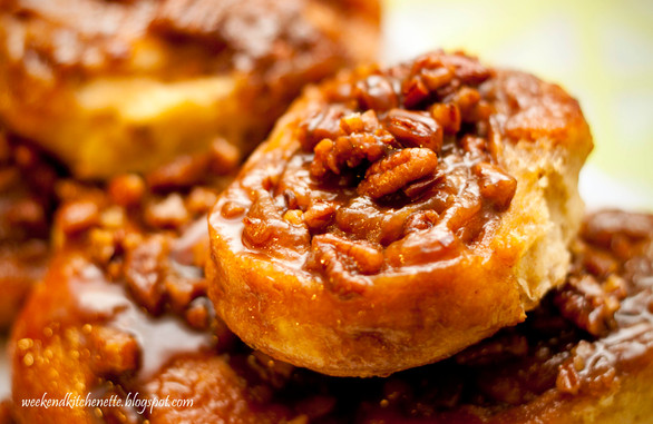Gorgeous Sticky Sticky Buns