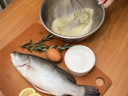 Salt-Baked Barramundi