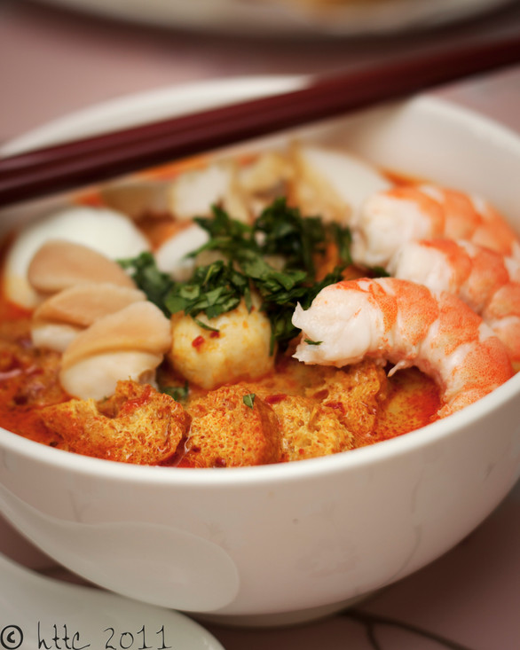 Singapore Laksa from scratch!
