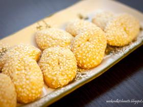 Italian Sesame Cookies for Boston Cookie Swap