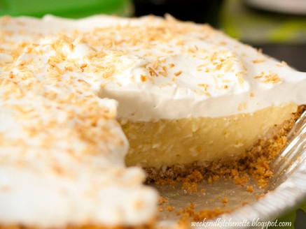 Yummy Coconut Cream Pie