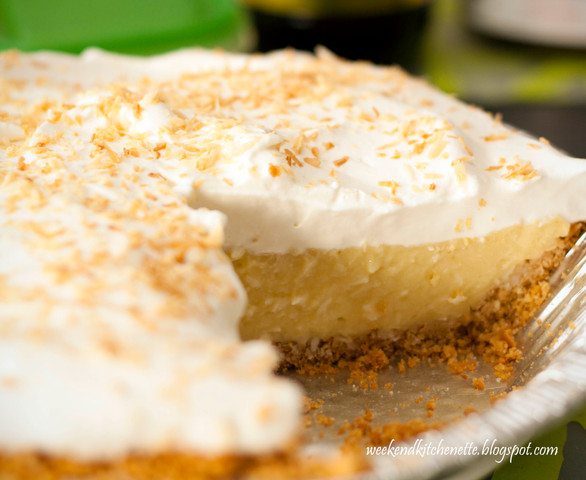 Yummy Coconut Cream Pie