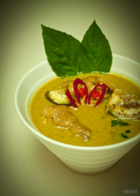 The Heavenly Green Chicken Curry