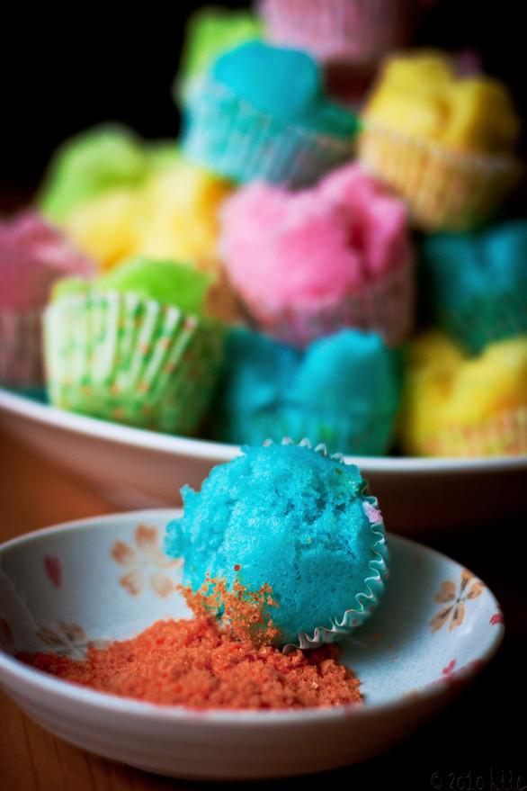 Steamed Traditional Cupcakes (Wa Ko Kueh)