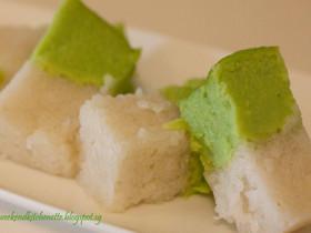 Kaya Glutinous Rice cake (Kueh Seri Kaya)